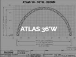 Dôme Britespan ATLAS 36' W