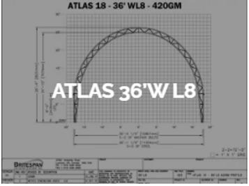 Dôme Britespan ATLAS 36' WL8