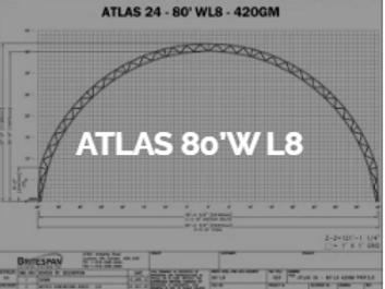 Dôme Britespan ATLAS 80' WL8