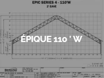 Dôme Britespan EPIC 110' W