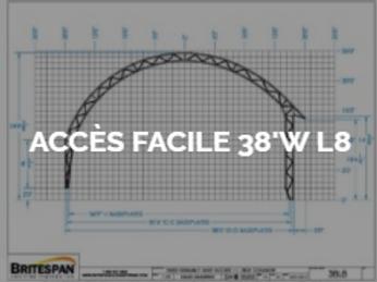 Dôme Britespan ACCES FACILE 38' WL8