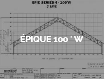 Dôme Britespan EPIC 100' W
