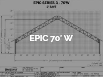 Dôme Britespan EPIC 70' W
