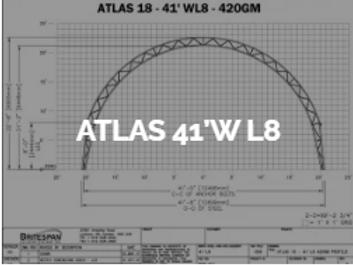 Dôme Britespan ATLAS 41' WL8