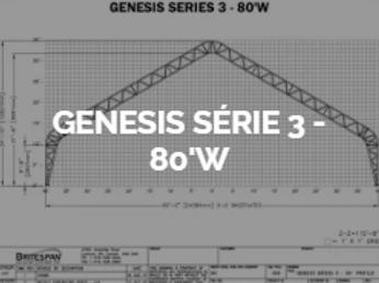 Dôme Britespan GENESE série 3-80' W