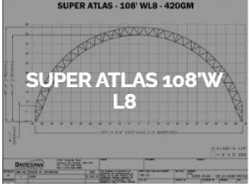 Dôme Britespan SUPERATLAS 108' WL8