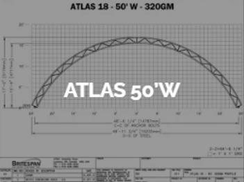 Dôme Britespan ATLAS 50' W