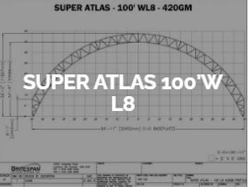 Dôme Britespan SUPERATLAS 100' WL8
