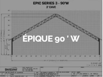 Dôme Britespan EPIC 90' W