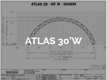 Dôme Britespan ATLAS 30' W