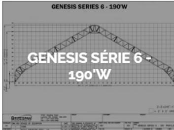 Dôme Britespan GENESE série 6-190' W