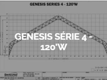 Dôme Britespan GENESE série 4-120' W
