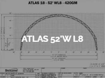 Dôme Britespan ATLAS 52' WL8