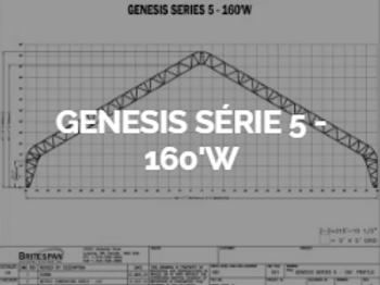 Dôme Britespan GENESE série 5-160' W