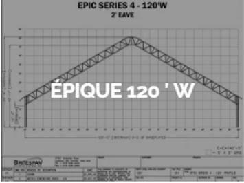 Dôme Britespan EPIC 120' W