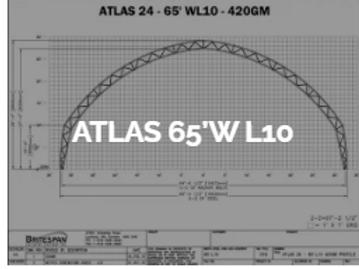Dôme Britespan ATLAS 65' WL10
