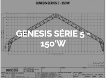 Dôme Britespan GENESE série 5-150' W
