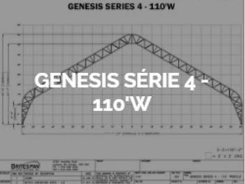 Dôme Britespan GENESE série 4-110' W