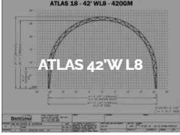 Dôme Britespan ATLAS 42' WL8