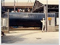 田中運送店の給油タンク