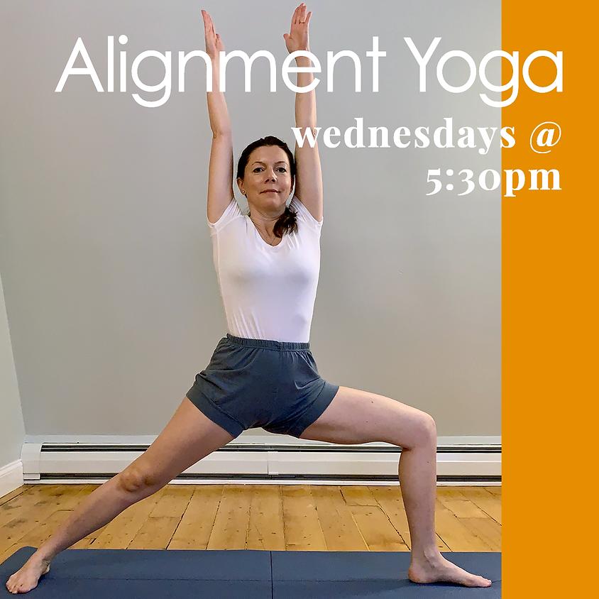 Alignment Yoga - Livestream