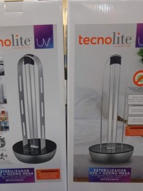 Luminario de Luz ultravioleta tecnoLite - Esterilizador UVC + Ozono de mesa