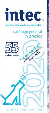 Catálogo Intec 2021 Portada