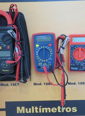Instrumentos de medición de parámetros eléctricos