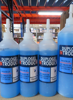Duplogel - Gel lubricante para instalación de cables nuevos