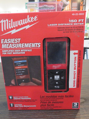 Medidor de distancia láser de 150 FT