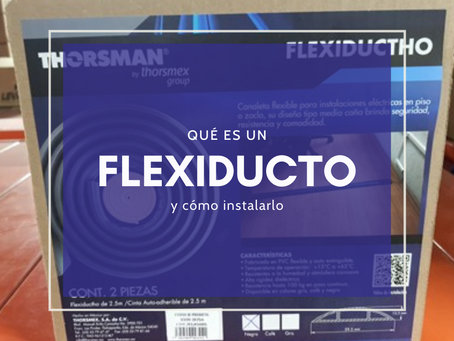 ¿Para qué se usa un flexiducto?