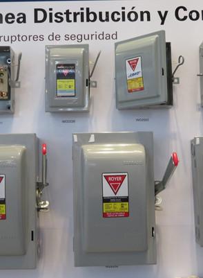 Dispositivos de protección para áreas eléctricas  Industriales, comerciales y residenciales Royer