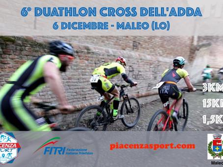6° Duathlon dell'Adda 6 Dicembre