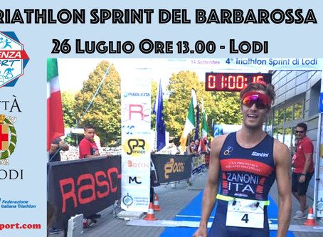 5° Triathlon Sprint del Barbarossa
