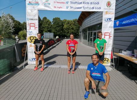 Triathlon del Barbarossa. Buona la prima