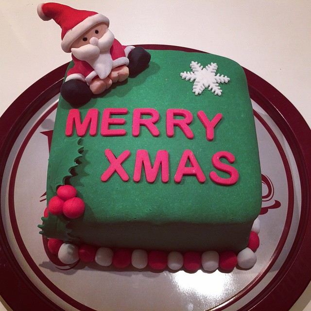 Christmas Peppermint Cake