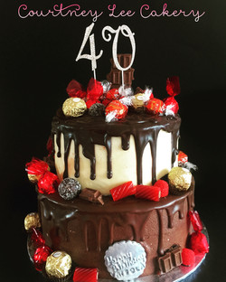 Double Loaded Cake