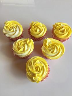 Vanilla and Salted Caramel Cupcakes