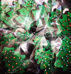 Wrapped Christmas Cookies