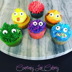 Sesame Street Mini Cupcakes