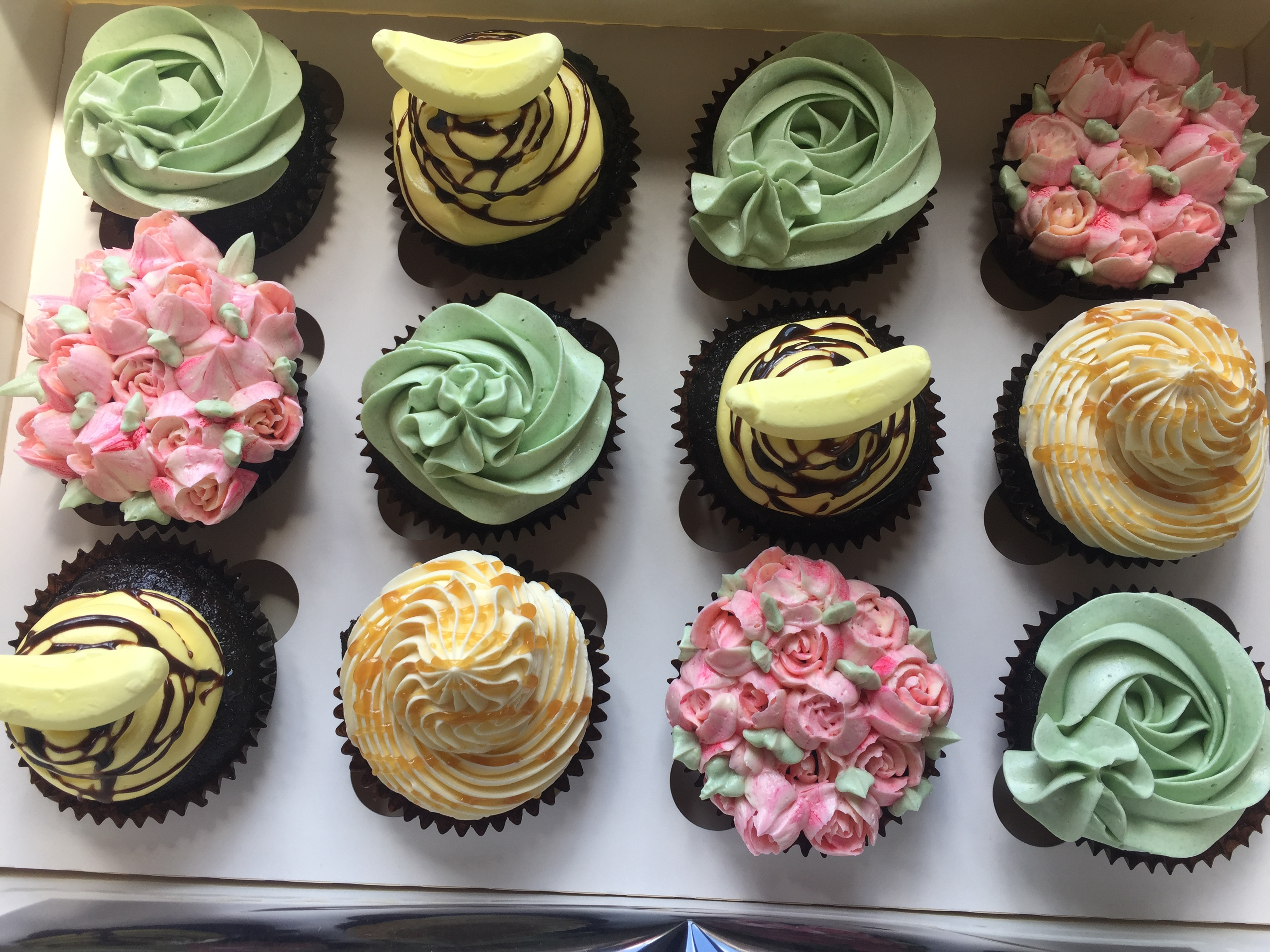 Mixed Flavours Cupcakes