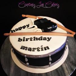 BMW Drum Cake