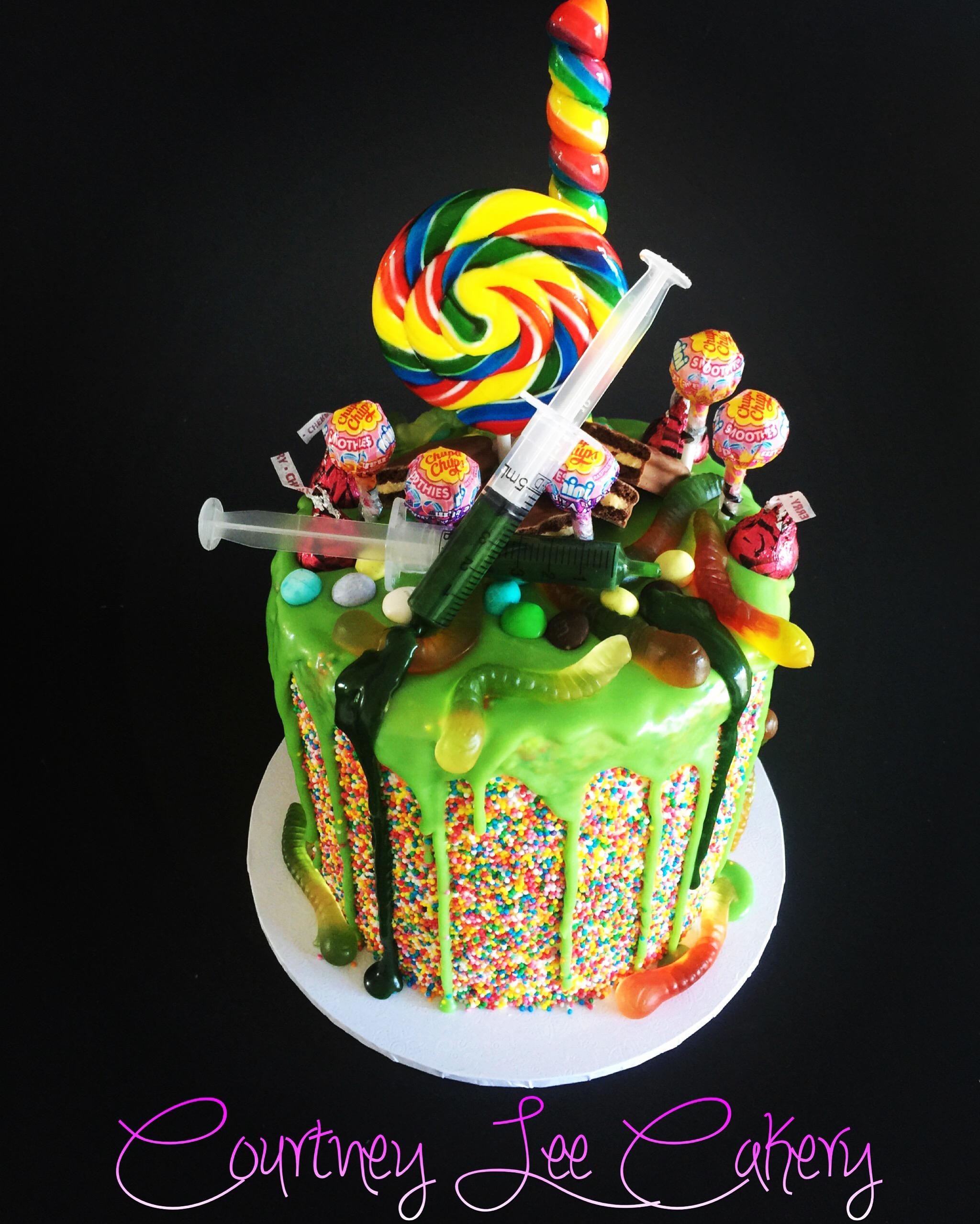 Mad Science Loaded Mini Cake
