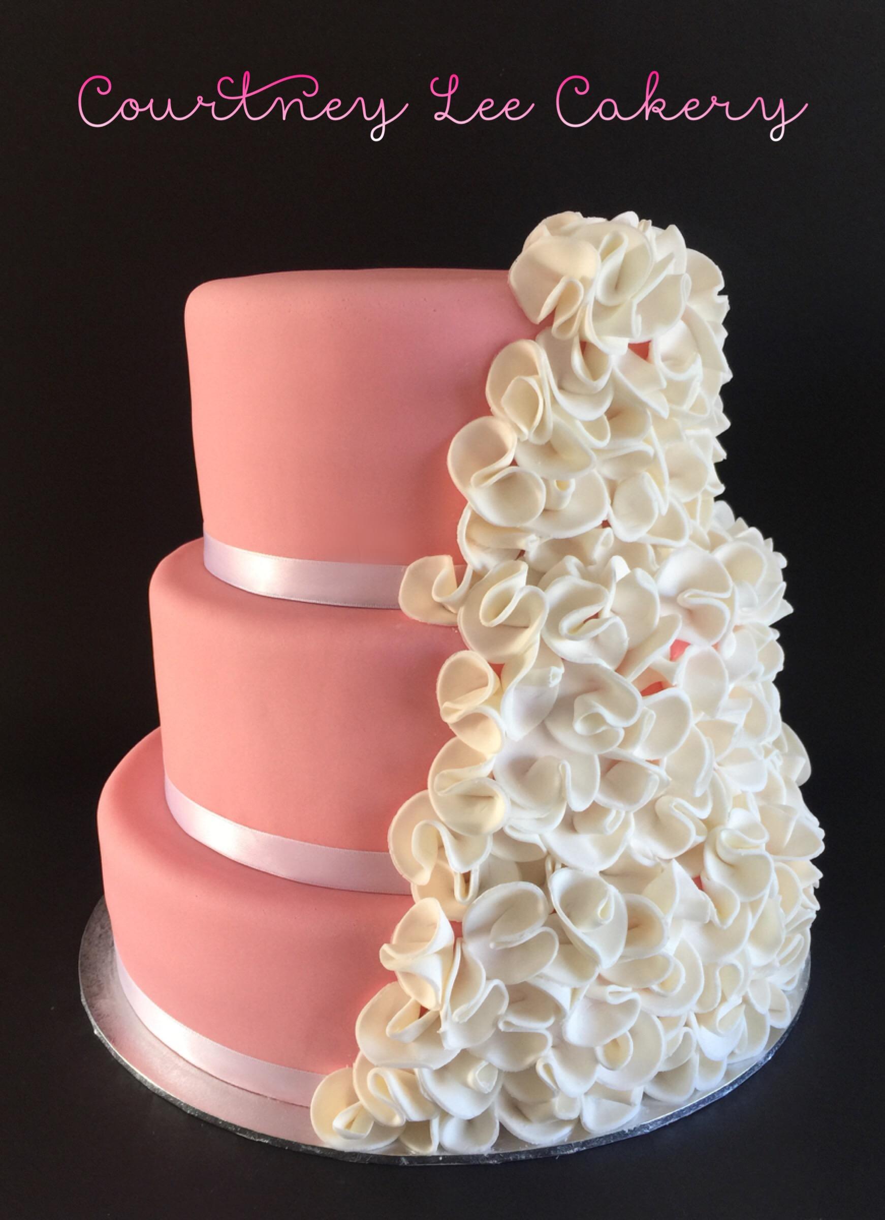 Wedding Frills Cake