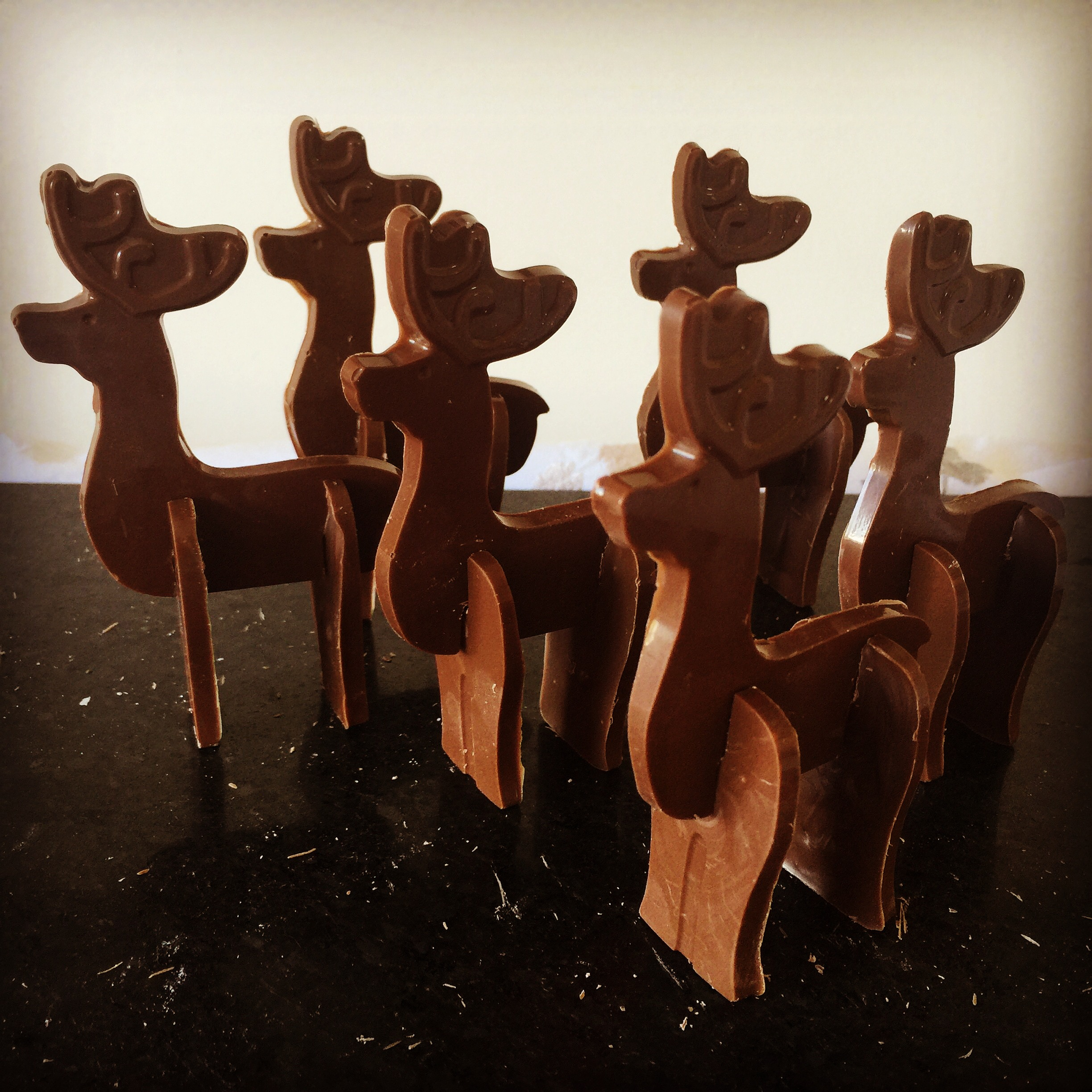 Chocolate Reindeer