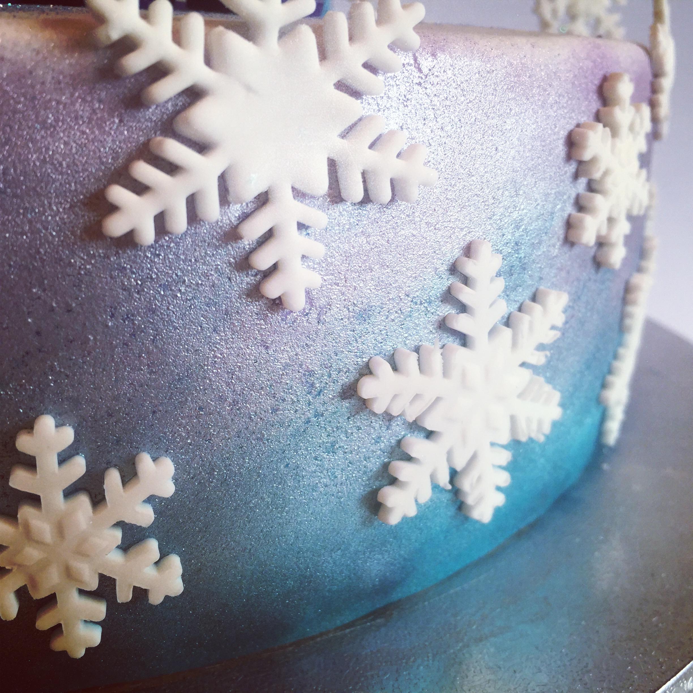 Frozen Cake (airbrushing)
