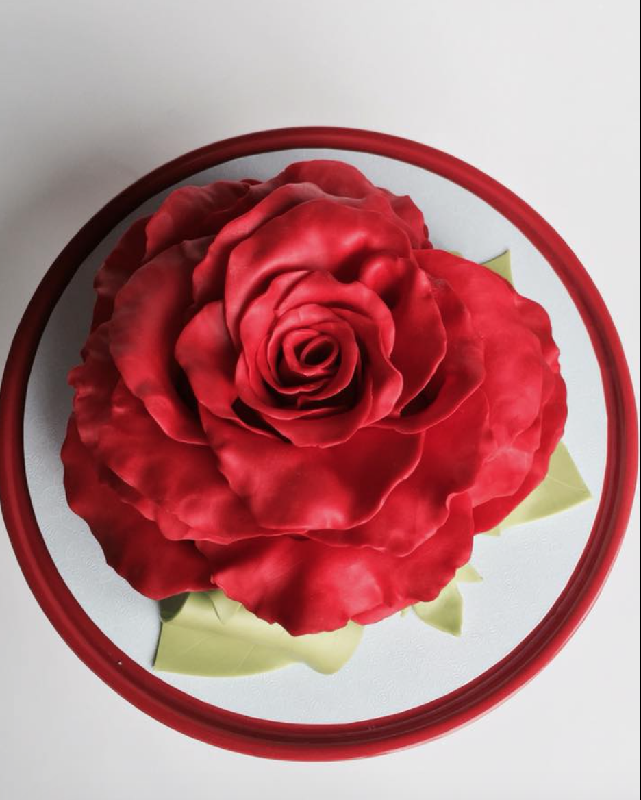 Mothers Day Rose Cake