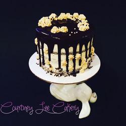 Chocolate Coffee Drizzle Cake