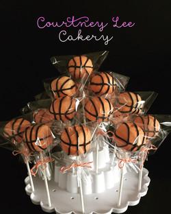 Baskeball Cakepops