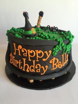 Witchy Birthday Cake